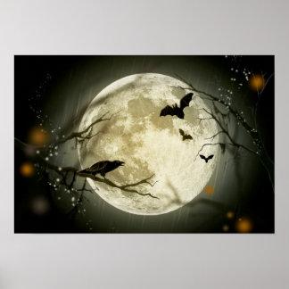 ハロウィンの満月 ポスター