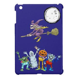 ハロウィンの漫画の創造物の振ること iPad MINI カバー