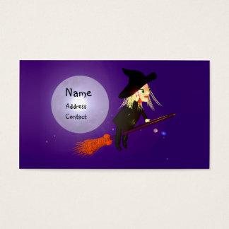 ハロウィンの無線魔法使い-ビジネスサイズ 名刺