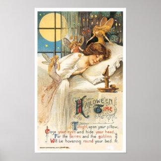 ハロウィンの眠り ポスター