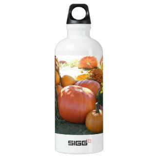 ハロウィンの秋場面 ウォーターボトル