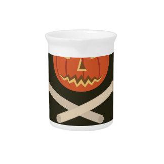 ハロウィンの精神の旗 ピッチャー