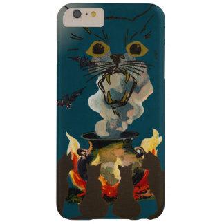ハロウィンの精神を呪文で呼び出している黒猫 BARELY THERE iPhone 6 PLUS ケース