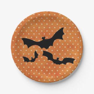 ハロウィンの紙皿 ペーパープレート