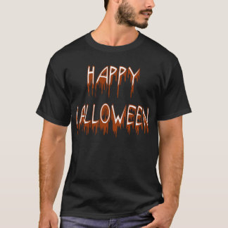 ハロウィンの苦しむ文字 Tシャツ