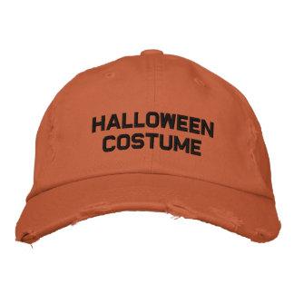 ハロウィンの衣裳 刺繍入りキャップ