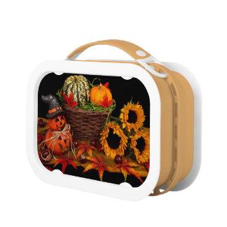 ハロウィンの装飾のお弁当箱 ランチボックス