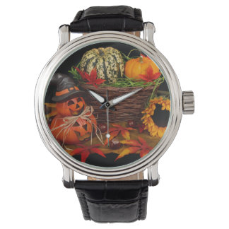 ハロウィンの装飾の腕時計 腕時計