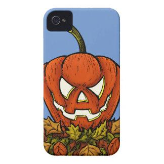 ハロウィンの邪悪な微笑のカボチャ Case-Mate iPhone 4 ケース