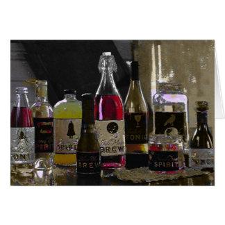 ハロウィンの醸造物の~カード カード