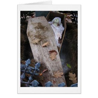 ハロウィンの重要な悪鬼-写真 カード