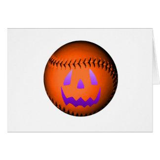 ハロウィンの野球 カード