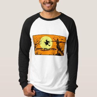ハロウィンの長袖のRaglanのTシャツ Tシャツ