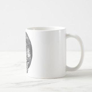 ハロウィンの間素晴らしい黒猫の舐めること コーヒーマグカップ