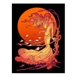 ハロウィンの風 ポストカード