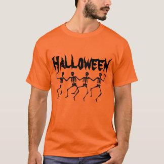 ハロウィンの骨組Tシャツ Tシャツ