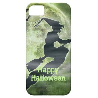 ハロウィンの魔法使いおよびくも iPhone SE/5/5s ケース