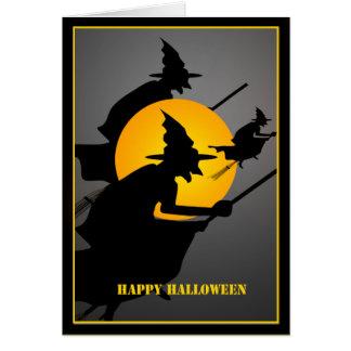 ハロウィンの魔法使いのカスタム カード