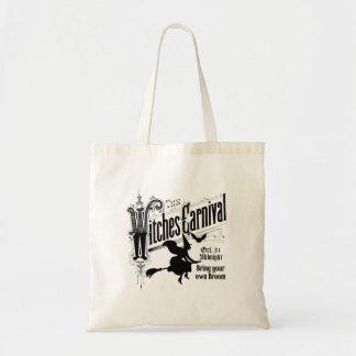 ハロウィンの魔法使いのカーニバル トートバッグ