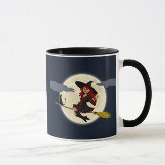 ハロウィンの魔法使いのマグ マグカップ