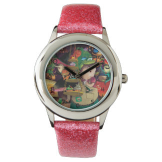 ハロウィンの魔法使いの台所 腕時計