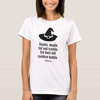 ハロウィンの魔法使いの帽子のおもしろTシャツ Tシャツ
