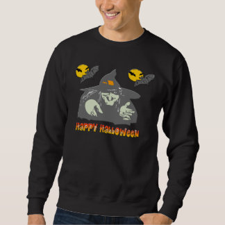 ハロウィンの魔法使い スウェットシャツ
