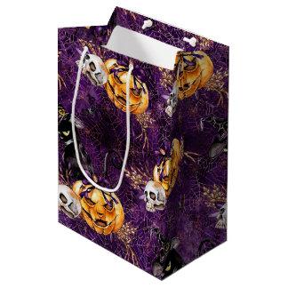 ハロウィンの魔法使い ミディアムペーパーバッグ