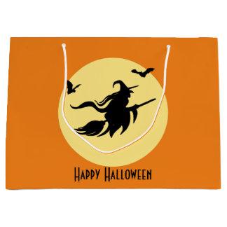 ハロウィンの魔法使い ラージペーパーバッグ
