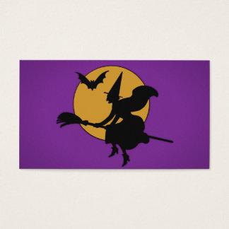 ハロウィンの魔法使い 名刺