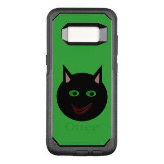 ハロウィンの黒猫の電話箱 オッターボックスコミューターSamsung GALAXY S8 ケース