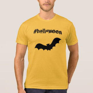ハロウィンのhashtagのTシャツ Tシャツ