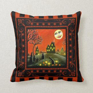 ハロウィンのJ O Lを熟させる家の装飾の枕 クッション