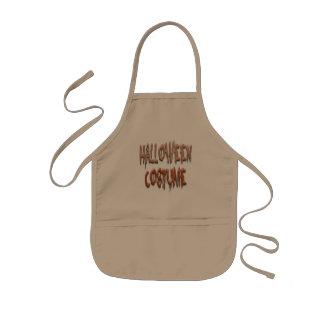 ハロウィンのScarey衣裳 子供用エプロン