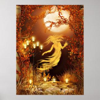 ハロウィンのseance ポスター