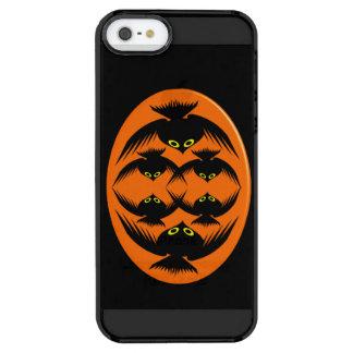 ハロウィンは場合iPhoneの鳴きます クリア iPhone SE/5/5sケース