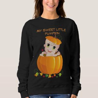 ハロウィンは、妊婦のな衣服着ます スウェットシャツ