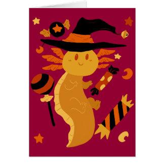 ハロウィンキャンデーのアホロートル カード
