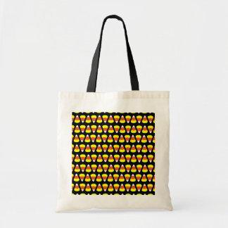 ハロウィンキャンデーのバッグ-キャンデートウモロコシ トートバッグ