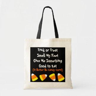 ハロウィンキャンデートウモロコシのバッグ トートバッグ