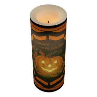 ハロウィンハロウィーンのカボチャのちょうちんの電池式の蝋燭 LEDキャンドル