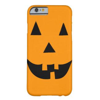 ハロウィンハロウィーンのカボチャのちょうちん BARELY THERE iPhone 6 ケース