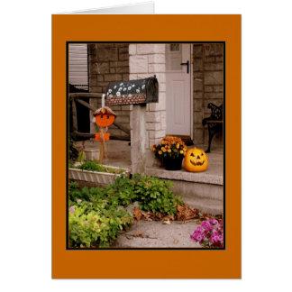 「ハロウィンポーチ」のハロウィンカード カード