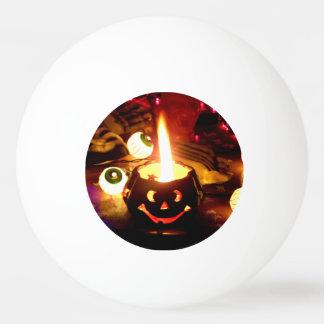 ハロウィン場面 卓球ボール