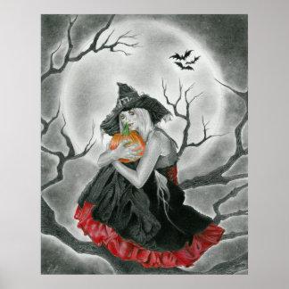 ハロウィン夜ポスター ポスター
