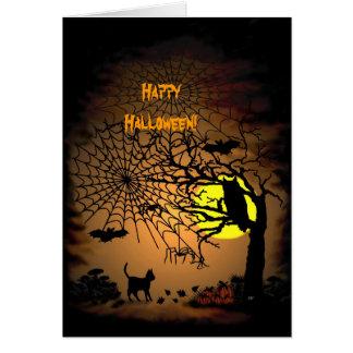 ハロウィン夜、ハッピーハローウィン! カード
