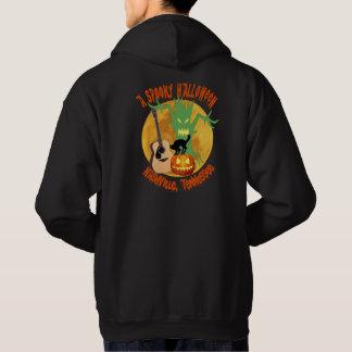 ハロウィン気味悪いナッシュビルの男性フード付きのスエットシャツ パーカ
