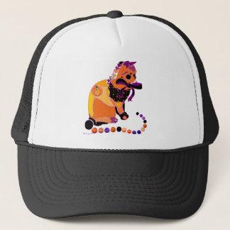 ハロウィン猫のTシャツ及びギフト キャップ