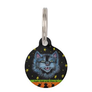 ハロウィン猫ペットラベル ペット ネームタグ