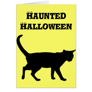 ハロウィン猫! カード